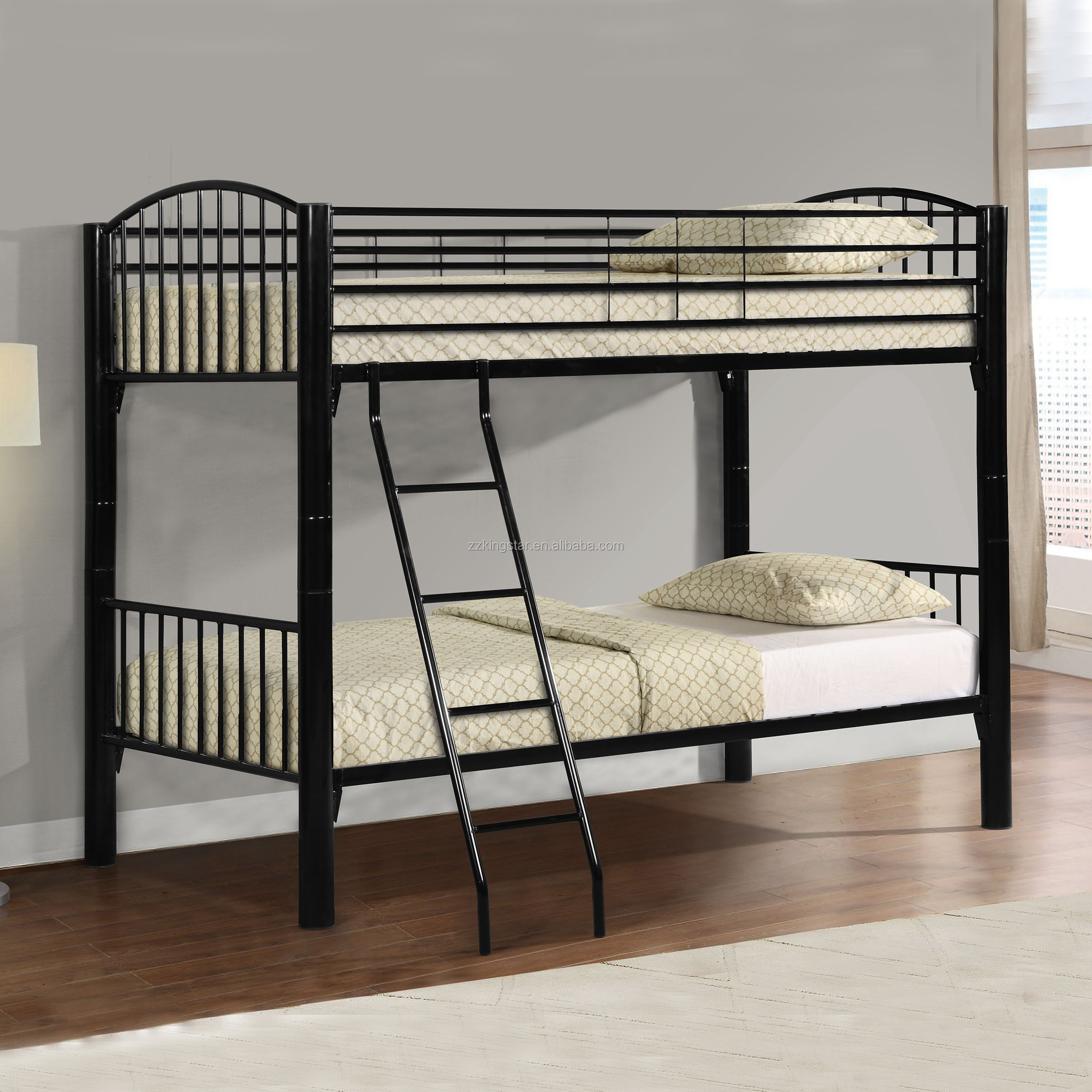 Picture of: Black Metal Pipe Steel Tube Bunk Bed Frames Manufacturer Buy Metal Pipe Bunk Bed Frames Metal Tube Bed Frame Steel Bunk Bed Frames Product On Alibaba Com