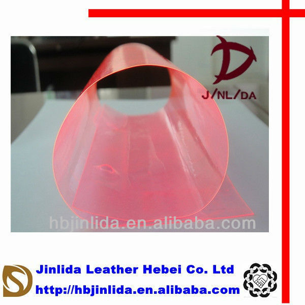 wallet Colors of Fluorescent Soft Calendering Plastic Film for Disposable Label