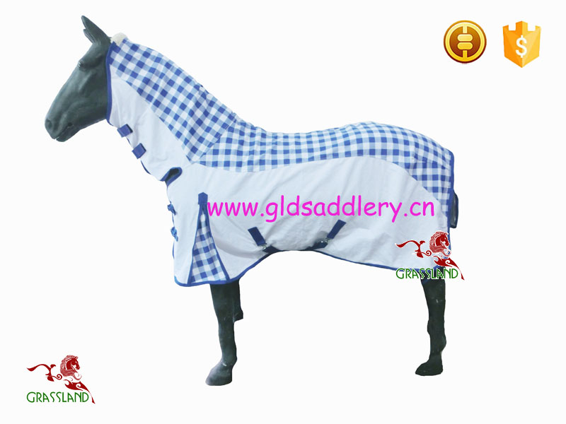 Cotton Canvas horse rug with printed color