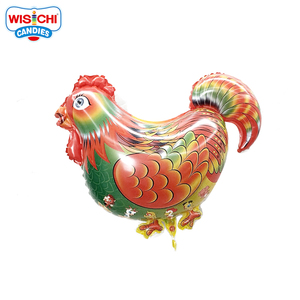 Mini cock animal shaped helium foil balloon