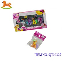 Lovely horse collectible vinyl toys / pvc toy factory
