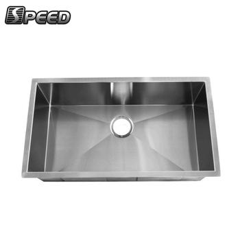 Inox Kitchen Sink SUS304 Hand Washing Basin Handmade Fabricate Sink