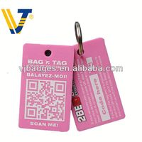 2013 New product unique luggage address tag