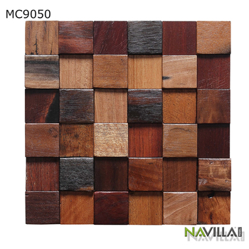 Natural Material Moisture-Proof Interior 3D Wall Panel For Interior Decoration