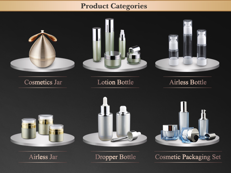 Empty Luxury Cosmetic Bottle Packaging,Airless Lotion Bottle,Airless Serum Bottle