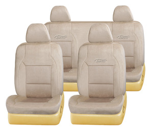 new fashionable velvet car seat cover in beige color car seat cover for customize F-O-R-D TAURS TP-019