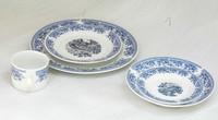 gold navy dinnerware/table dinner set porcelain/dining table sets