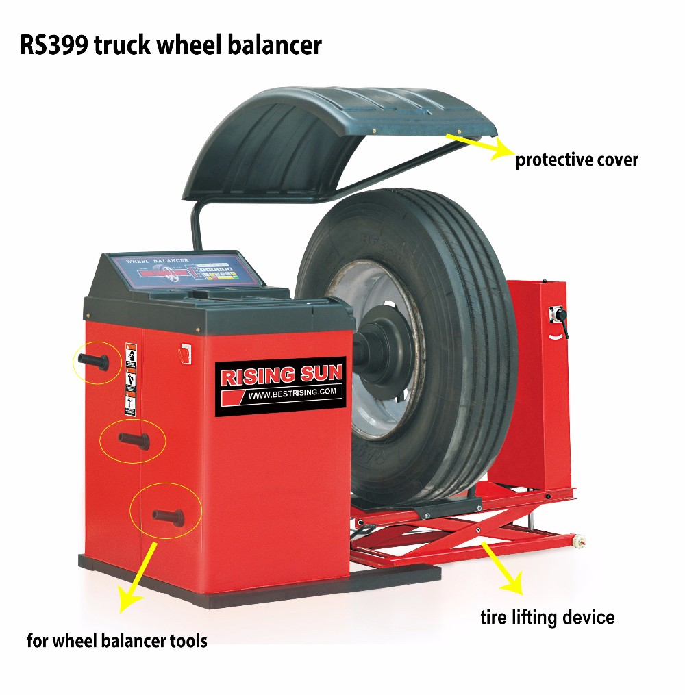 tire balance machine