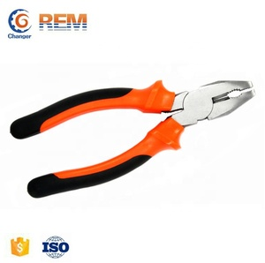 "Free Sample Hand Tool 6"" German Style Insulated Carbon Steel Wire Strip Combination Cutting Plier"