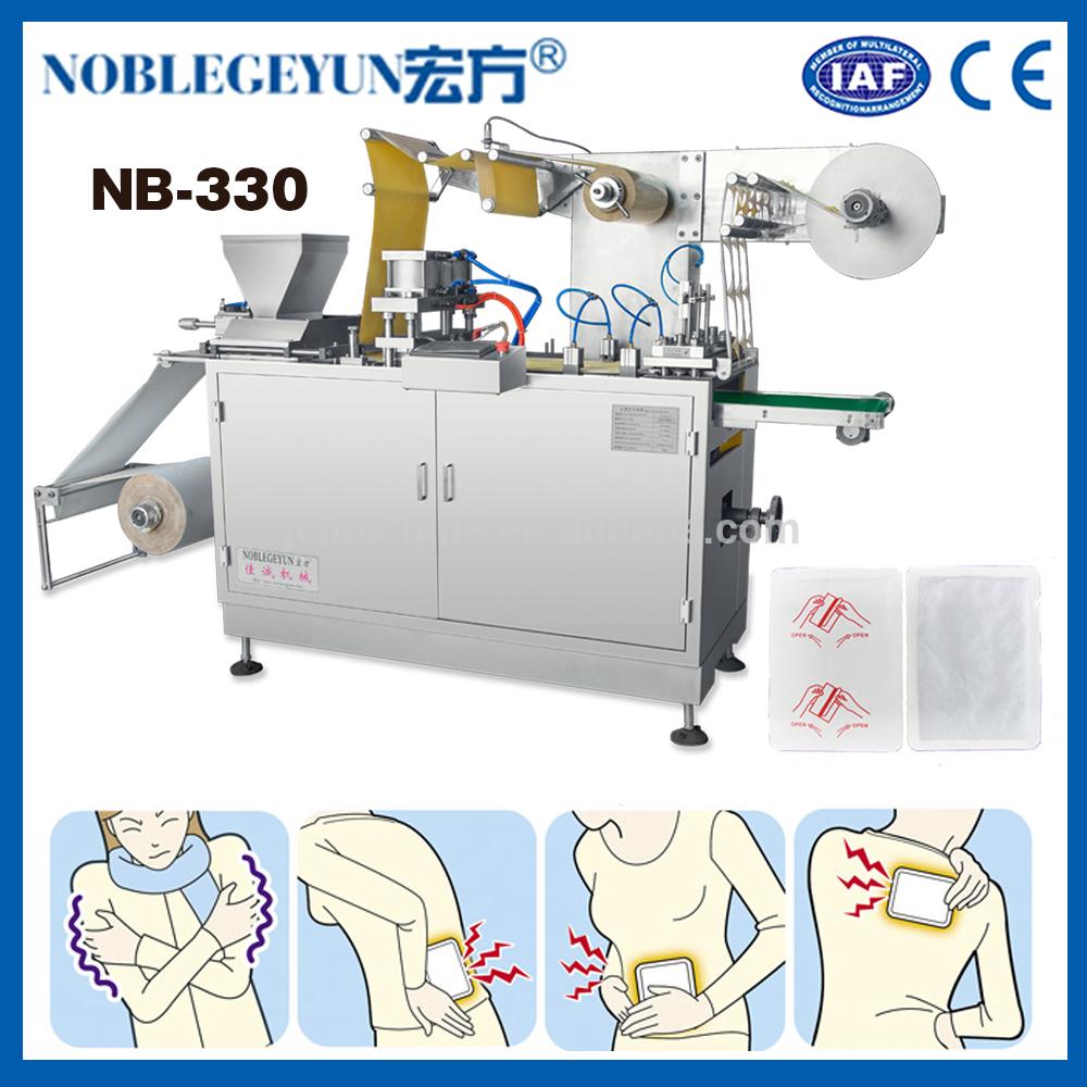 Automatische patch voet pad handwarmer making Machine