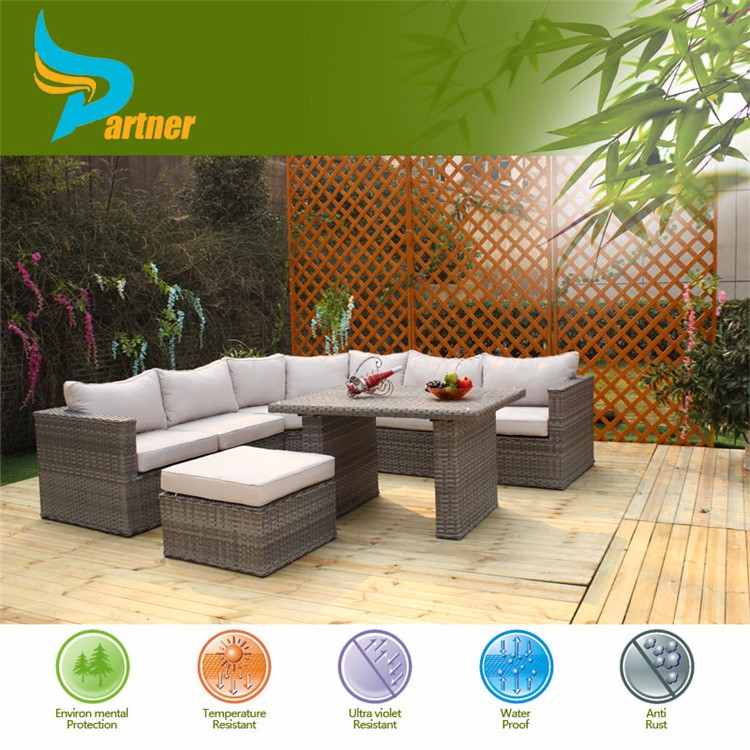 hot sale high quality waterproof rattan garden outdoor funiture
