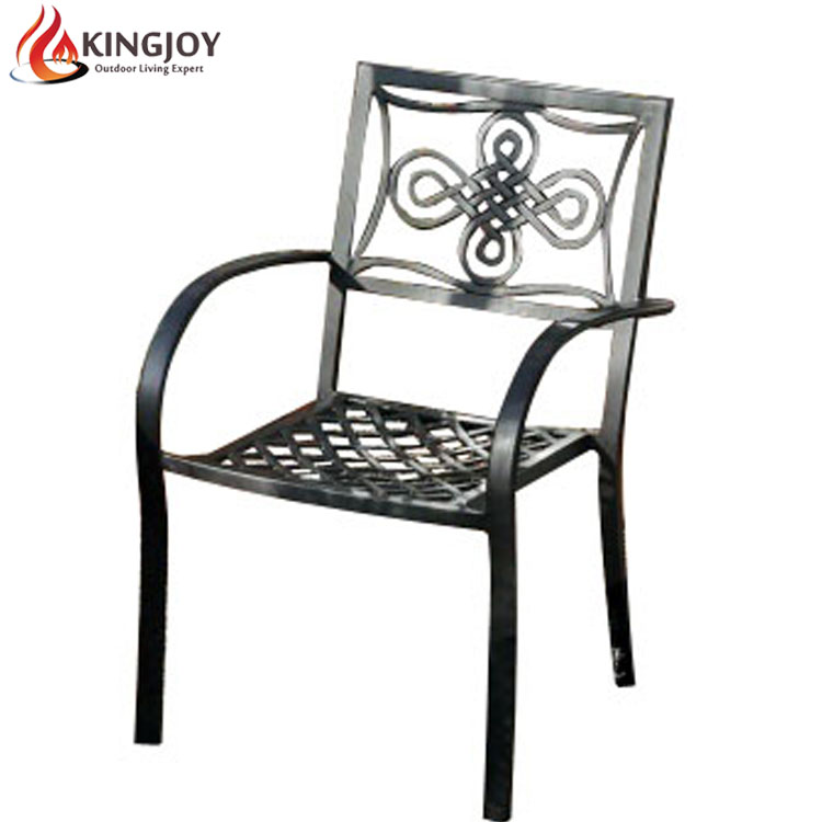 Garden cheap stackable chair aluminum