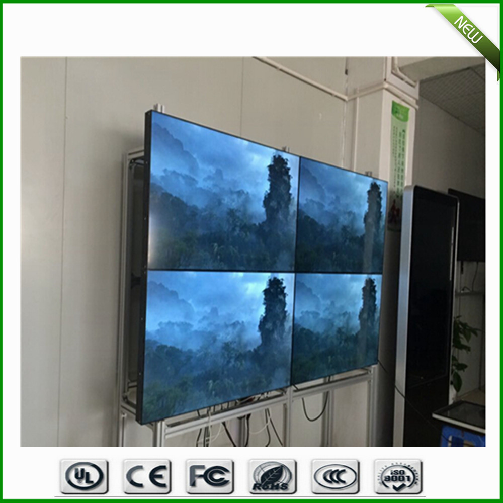 55 Inch 5 3 Mm Bezel Wall Mount Commercial Live Broadcast