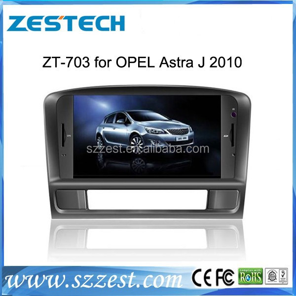 ZESTECH best price OEM Car dvd gps for Opel Astra J 2010 Car audio with gps bluetooth TV tuner