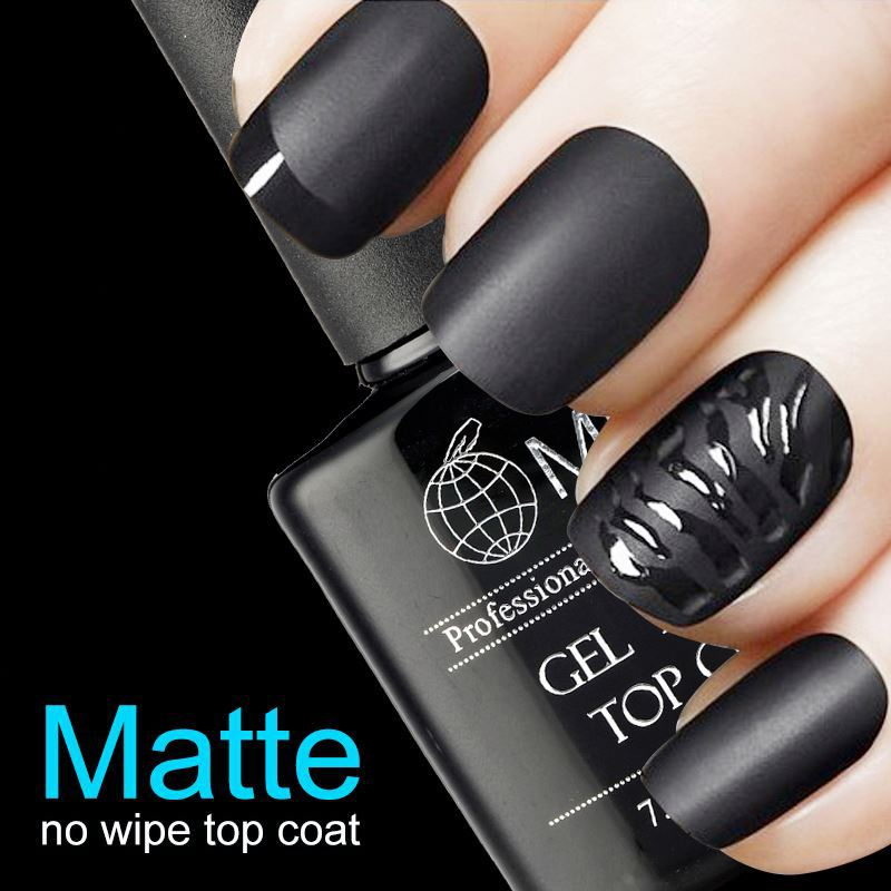 New Arrival Fashion Matte Top Coat Gel Nail Polish - Buy Fashion Gel ...