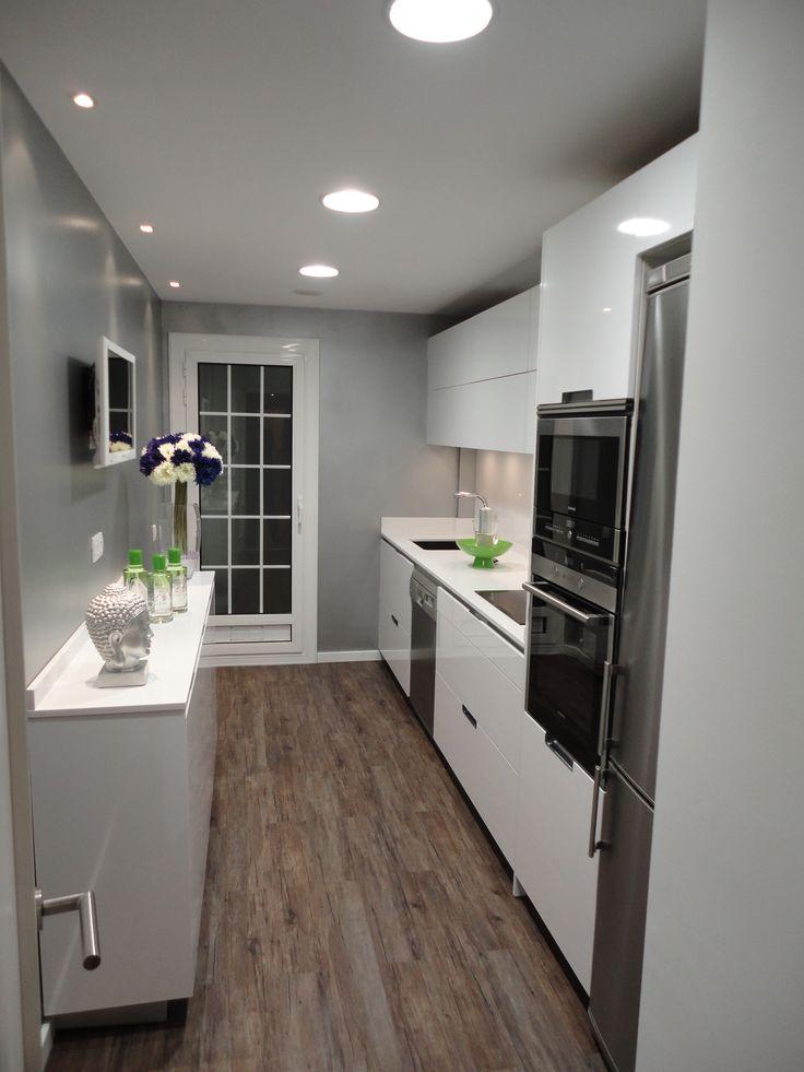 2016 cocina Diseño LED techo downlight led redondo y cuadrado ...