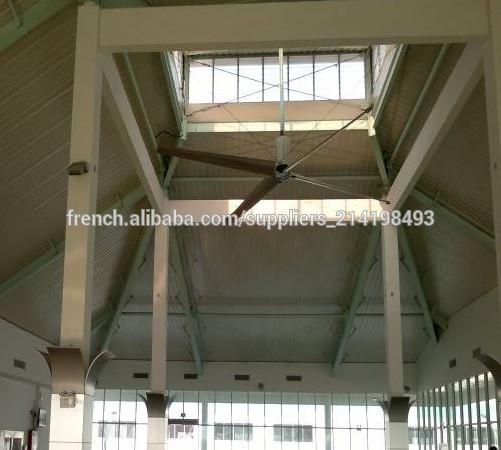 24ft industriel hvls ventilateur de plafond g ant ventilateurs axiaux id de produit 500002482583. Black Bedroom Furniture Sets. Home Design Ideas