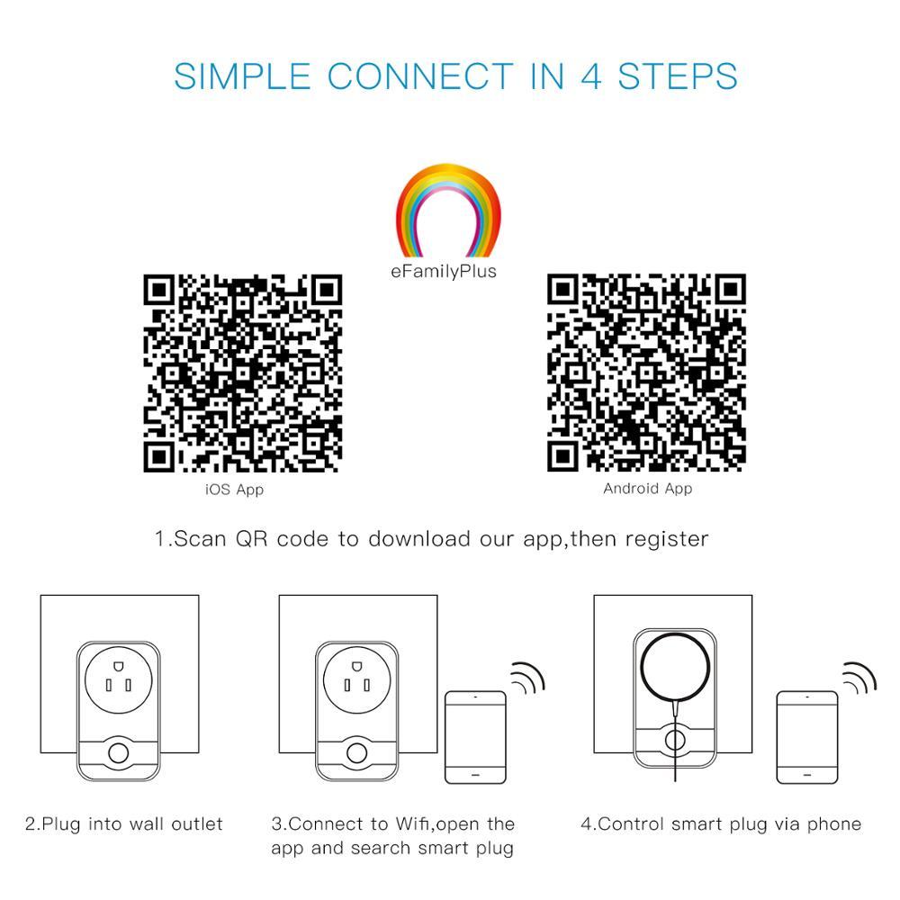 Smart Home System Us Uk Eu Wifi Universal Wall Socket Mini Smart Plug Works  With Google Home - Buy Wifi Universal Wall Socket,Wifi Universal Wall