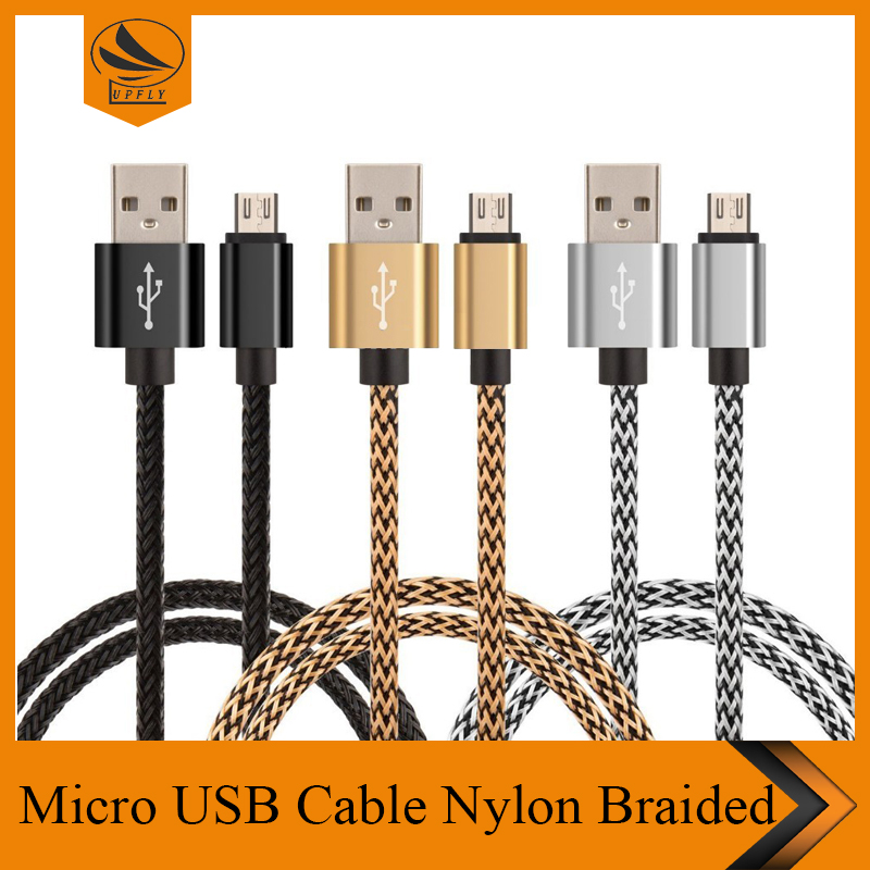 Wholesale Cellphone Accessories 1M output 2.4A micro usb cable android phone charger cable for samsung usb cable for samsung s6
