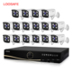 1080P 16 Channel Outdoor Video recorder AHD DVR Alarm Kit 2.0MP night vision DVR System