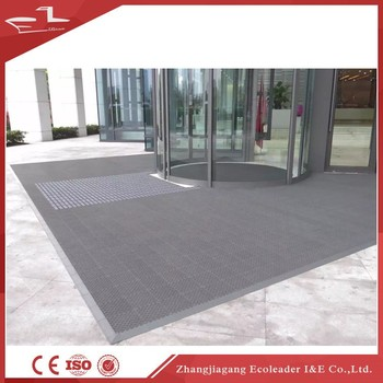 Dusty control high grade machine made floor mat for outdoor