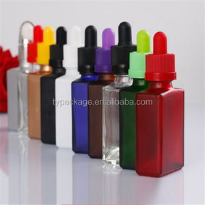 Wholesale price 10ml 20ml 30ml 50ml 60ml 100ml 120ml frosted white glass dropper bottle from Tuanyue