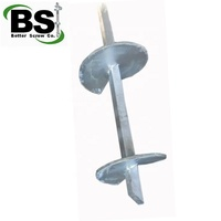 Anchor Bolt Hot Dip Galvanized Square Helical Piers