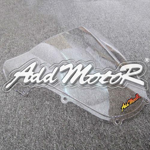 Мотоцикл ясно лобовое стекло лобовое стекло двойной пузырь для Suzuki GSXR1000 2000 - 2002 GSX-R 1000 00 - 02 K1 + бесплатная доставка