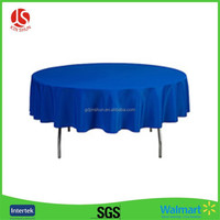 The Newest Custom Fitted Plastic Table Cover/Round Table Cloth for Sell