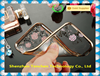Ultra thin Electroplating with picture clear transparent TPU cell phone case for iphone 6