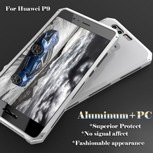 Superior Protective Aluminum and PC case for Huawei P9 anti gravity phone case