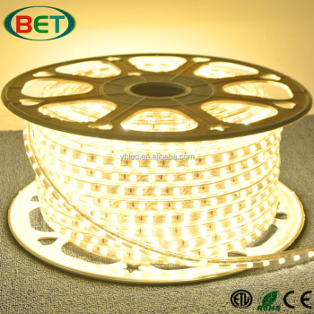 Alibaba Shenzhenled Manufacturing Flex Smd 5050 Rgb Warm White Led lighting Waterproof Flexible 110v Led Strip Light For Rooms
