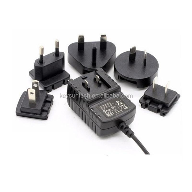 AC/DC Power Socket converter Plug Adapter 24 Watts US EU UK extension International travel adaptor 12 Volt 2 Ampere