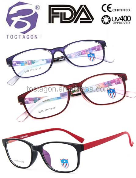 2017 new style high-end designer ultralight TR90 optics frame filling prescription eyewear frames women men use