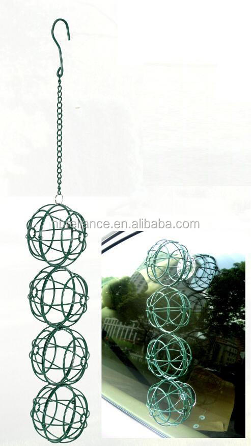 hanging metal bird feeder - Could be hanged over or attached on window