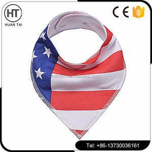 Hot sale high quality organic muslin cotton lovely cheap baby bibs