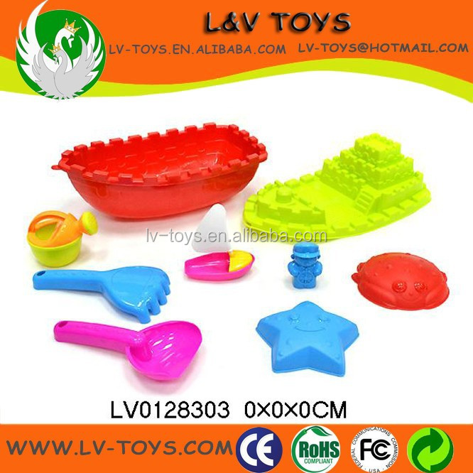 LV0128303 Low price hot sale beach toys boat beach