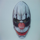 Custom deign PVC mask plastic party mask for Halloween