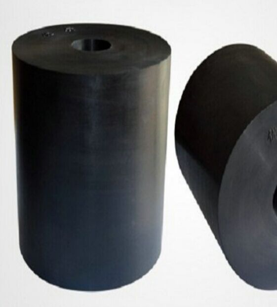 high quality impact resistance Black Rubber Cylinder
