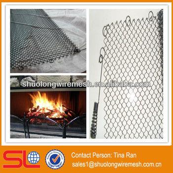 Black Screen For Fireplace Fireplace Screen Mesh Hebei Bv Certificate Company Buy Screen For