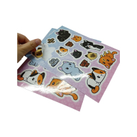 Direct Manufacture Waterproof Vinyl Kiss Cut Sticker,Die Cut Vinyl Sticker Sheet