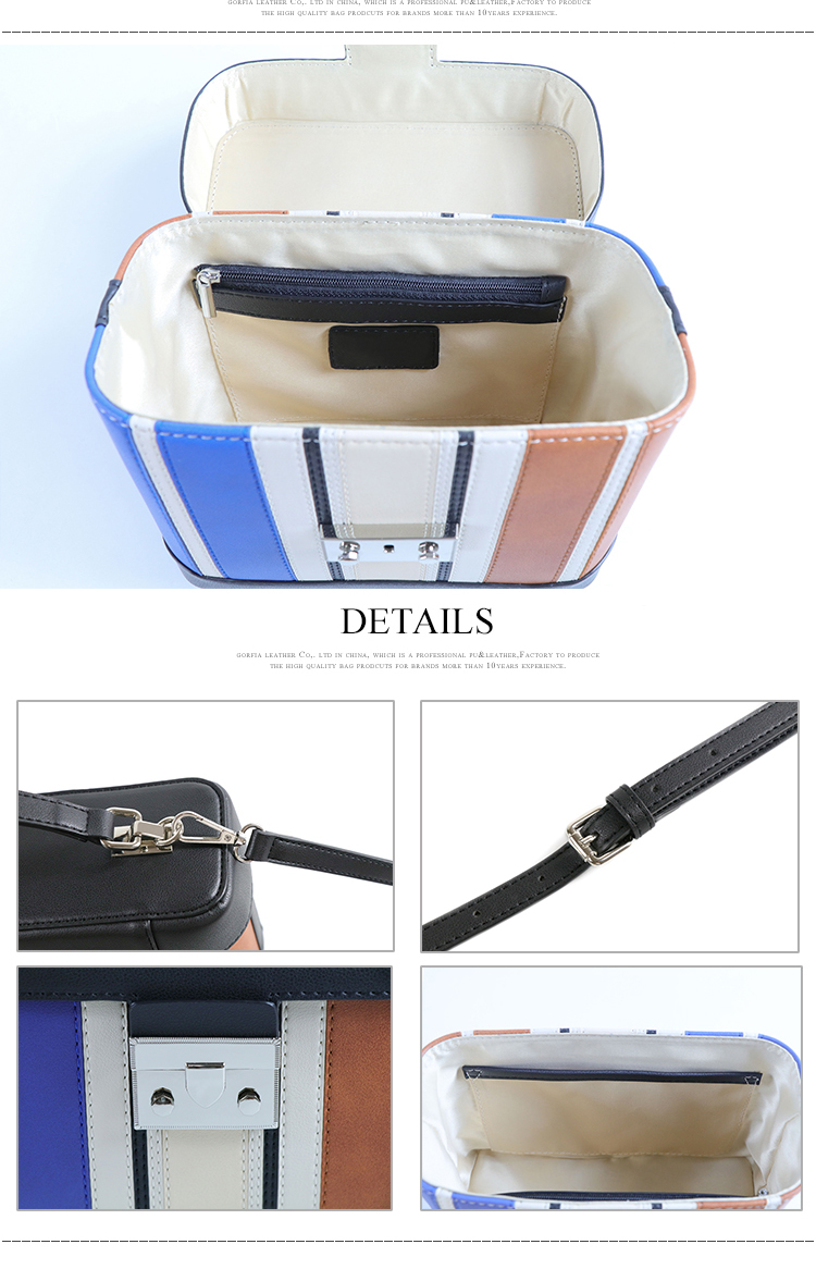 2019 wholesale guangzhou factory price casual toiletry bag with handle PU leather women cosmetic bag