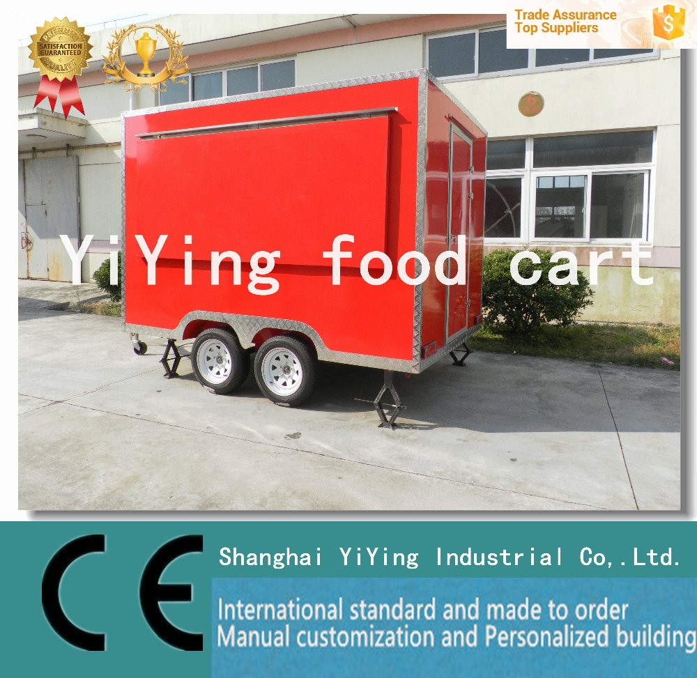 Exceptional coffe cart mobile food cart for sale