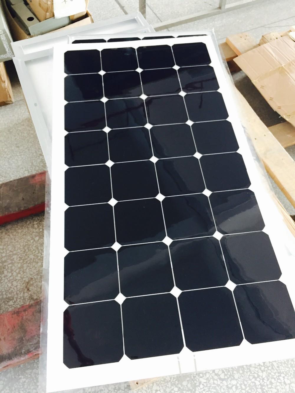 2017 Best Selling Roof Rv Marine Semi Flexible Solar Panel