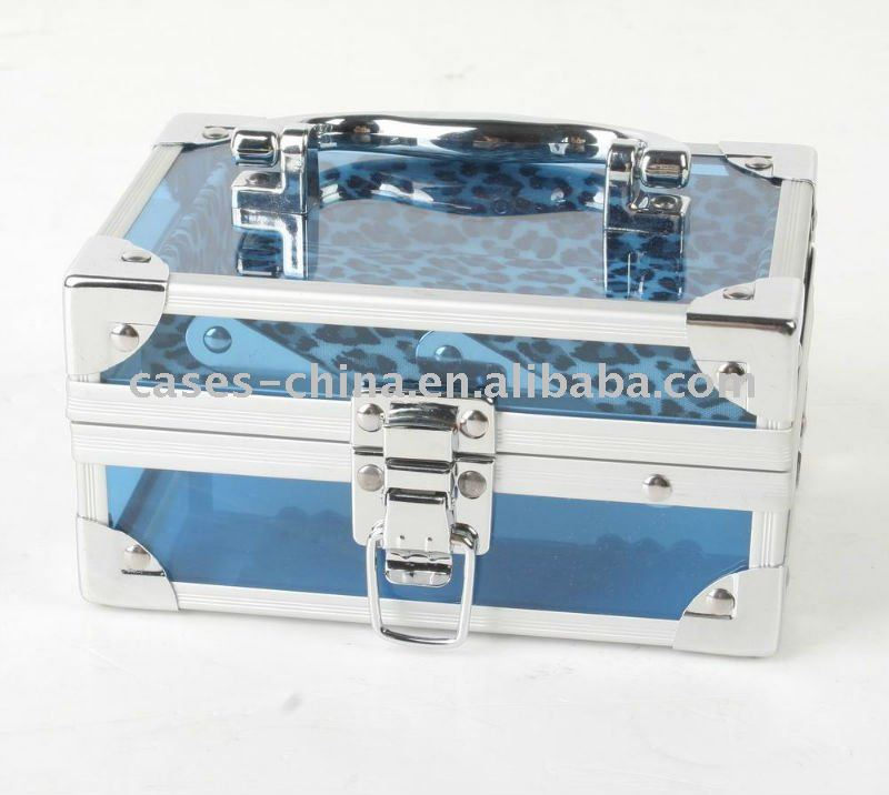 Acrylic beauty vanity cosmetic case