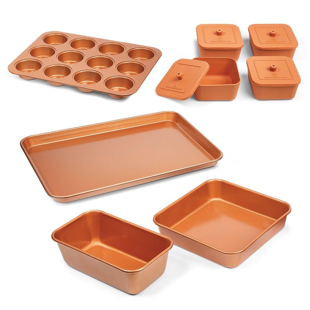 Copper Chef 12 Piece Bakeware Set