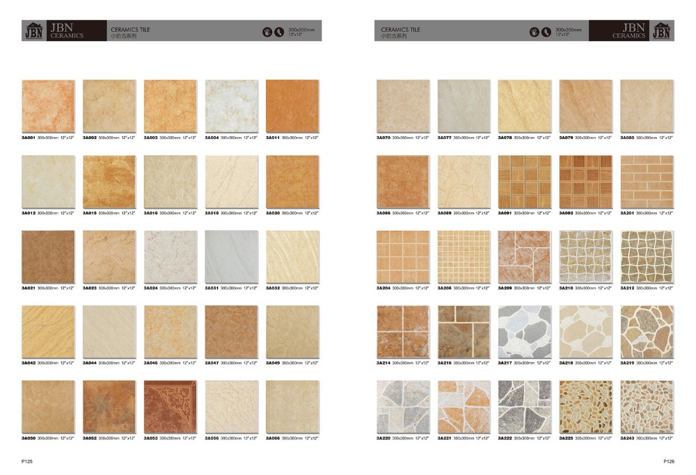 Ceramic tiles full glazed wall and floor tile in best for Azulejos exterior baratos