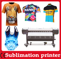 DX7 Digital sublimation printer price for T shirt printing machine