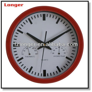 wall clock with temperature and humidity wall clock with temperature