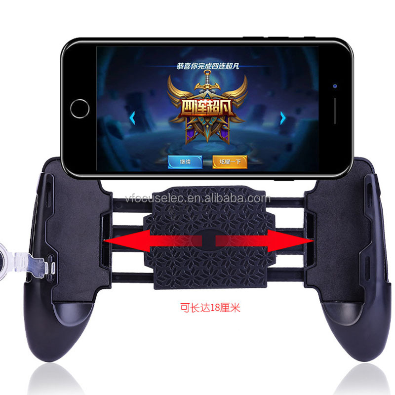 Survival Games Portable Mobile Phone Game Handle GripJL-02 Adjustable PUBG Gamepad With Joystick for Mobile Game